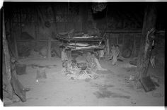 Inside a Wancho Naga house | par SOAS Digital Library