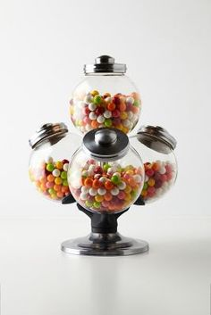 Argentinean Candy Jar from Anthropologie. Shop more products from Anthropologie on Wanelo. Candy Jars, Candy Buffet, Candy Bowl, Candy Dishes, Candy Table, Party Favors, Just In Case, Just For You, Pots