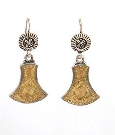 BELL EARRING - Buy Online Designer Earring @ SilverCentrre.com Product Code: SCW 85