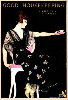Good Housekeeping Jun 1916 - Cover ILL.  by  Coles Phillips