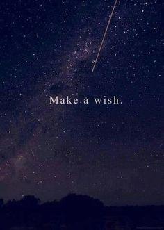 Make a wish love the stars!