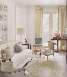 Suzanne Kasler's living room '12