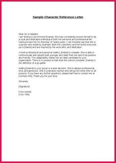 sle letter of moral character for a judge affidavit