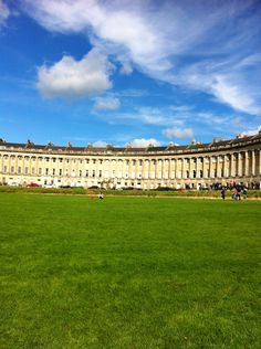 Royal Crescent, Bath Used to live behind the Crescent, beautiful.
