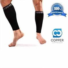 Copper Compression Calf / Shin Splint Recovery Leg Sleeves - https://www.coppercompression.com/products/copper-compression-calf-shin-splint-recovery-leg-sleeves - While Many Companies Will Only Give You A Single Calf Sleeve - What You Are Ordering On This Page Right Now Is A PAIR Of Calf Sleeves!