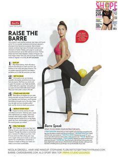 Prima Studio Barre Legging- SHAPE Magazine Nov 2012