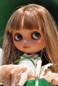 OOAK Custom Blythe Doll hand painted art doll by by DollVille