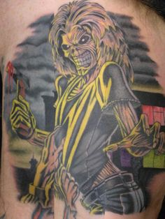 1000 images about eddie maiden on pinterest iron maiden the killers and tattoos and body art. Black Bedroom Furniture Sets. Home Design Ideas