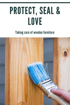 Our team has some expert tips to keeping those wooden family treasures intact and protected for generations to come. Diy Store, Property Values, Wooden Furniture, Home Renovation, Home Buying, Cleaning Hacks, Seal, How To Make Money, Diy Projects