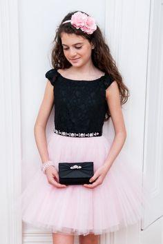 Girls Designer Dresses by David Charles. Autumn Winter 2015. 6yrs to 16yrs.