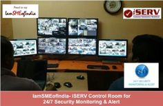 Preventive Safety and Security through  24/7 Surveillance of Premises! For Factories, Banks, Commercial Establishments, Schools, Colleges, Homes IamSMEofIndia launches Special Surveillance and Monitoring Cell in Collaboration with iServ.