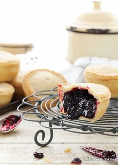 Deep Filled Blackcurrant Pies are the perfect marriage of jammy blackcurrant filling generously piled into homemade pastry. Frozen Meals, Frozen Desserts, Fun Desserts, Dessert Recipes, Cake Recipes, Sweet Pie, Sweet Tarts, Currant Recipes, Pie Cutter