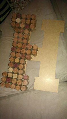 Cork crafts - it's a work in progress!!