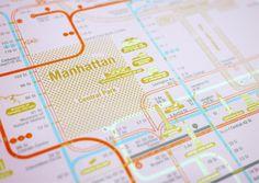City Identity in Subway Maps by Zero Per Zero
