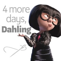 😮 We are so excited for The Incredibles II this week! Only 4 more days! Birthday Month Quotes, Happy Birthday Wishes Quotes, Birthday Week, Happy Birthday Greetings, Birthday Messages, Birthday Message For Brother, Fiance Birthday, Best Friend Birthday, Birthday Countdown