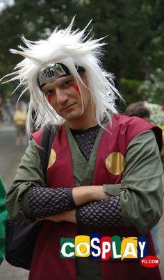 Jiraiya looks serious. But seriously, look at his FACE. Its also a real life pervy sage!