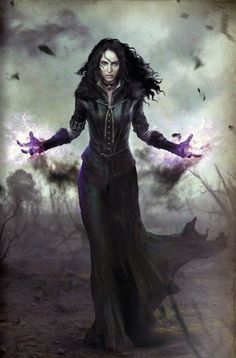 Yennefer of Vengerberg Fantasy Witch, Dark Fantasy Art, Fantasy Artwork, Fantasy World, Dark Art, Witcher Art, The Witcher 3, Fantasy Inspiration, Character Inspiration