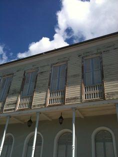 La Martinique , Saint-Pierre, ville historique, Maison de la Bourse