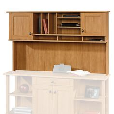 ... Hutch Offers Additional Storage Space With 4 Shelves 2 Adjustable,  Attaches To The Dawson Desk Sold Separately At Office Depot U0026 OfficeMax.