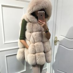 winter jacket women luxury real fox fur vest elegant plaid design jacket women hooded vest NE032-in Fur & Faux Fur from Women's Clothing & Accessories on Aliexpress.com | Alibaba Group