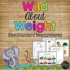 Are you looking for some nonstandard measurement activities for your first graders? These are fun stations for kids and are very hands on! Grab these worksheets and packet now! Nonstandard Measurement, Measurement Kindergarten, Measurement Activities, Kindergarten Activities, Math Games, Length Measurement, Math Stations, Math Centers, Heavy And Light