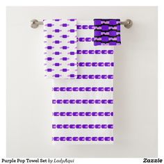 Make bath time more pleasurable by stocking up on Purple bath towels, hand towels, and washcloths from Zazzle today! Spa Towels, Bathroom Towels, Bath Towel Sets, Luxury Bath, Washing Clothes, Europe, Textiles, France, Pop