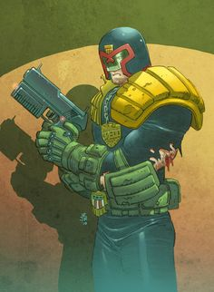 Judge Dredd screenshots, images and pictures - Comic Vine