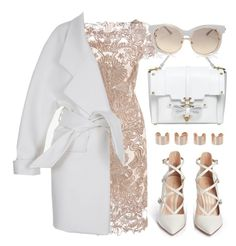 """LOVE"" by jiabao-krohn ❤ liked on Polyvore featuring Niels Peeraer, Balmain, Gianvito Rossi, River Island, Maison Margiela and Chloé"