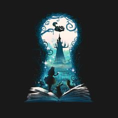 Book of Wonderland - Alice im Wunderland-T-Shirt - Die Shirt-Liste - Book o. - Book of Wonderland – Alice im Wunderland-T-Shirt – Die Shirt-Liste – Book of Wonderland - Alice In Wonderland Drawings, Alice And Wonderland Quotes, Alice In Wonderland Characters, Wonderland Party, Art Disney, Disney Kunst, Fantasy Kunst, Fantasy Art, Disney Drawings