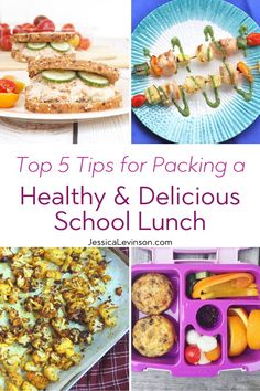 Packing lunch for the kids doesn't have to be a chore. Nutritious, delicious, and varied with these five tips to packing a healthy & delicious school lunch. Packing Lunch, Healthy Kids, Healthy Living, Healthy School Lunches, Cold Meals, Eating Raw, Different Recipes, Food Allergies, Nutrition Tips