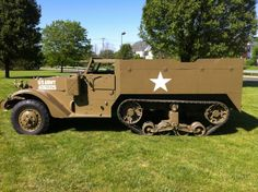 1942 Halftrack - Runs great and new paint *** Great Investment***