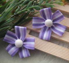 4-20-100pcs-Ribbon-flower-Bows-DIY-Appliques-Craft-Wedding-Lots-Upick-E100