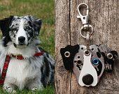 Artículos similares a Keychain ID Key Chain Tag Custom Likeness Pooch Dog Pet Lover Aluminum Rivets Stamped en Etsy, un mercado global de artículos hechos a mano y vintage.