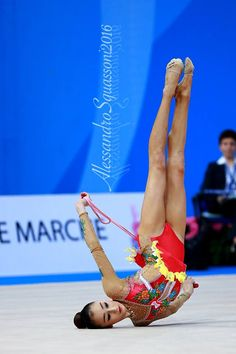 Alina Adilkanova (Kazakhstan), junior, World Cup (Pesaro) 2016