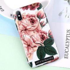 iphone 8 case leather eucalyptus
