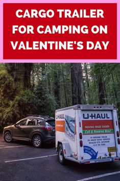 Starting your Valentines Day off with a surprise camping trip? A cargo trailer will not only hold all your camping gear, special gifts, and outdoor games, it also protects against the weather. Romantic Camping, Best Gas Mileage, Car Trailer, Camping Gear, Make It Simple, Hold Hands, Outdoor Games, Survival Gear, Special Gifts