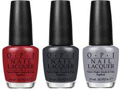 OPI Fifty Shades of Grey: und auch ein sündiges Rot gehört natürlich dazu