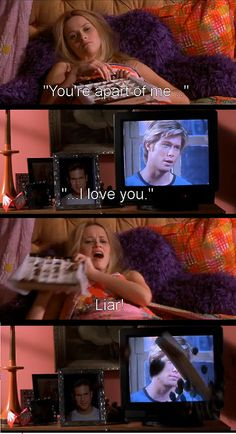 My favorite scene from the entire movie. Legally Blonde