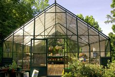 Nothing sounds more perfect than my own greenhouse!