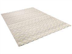 Handmade rug with geometric shapes ZIGGY by ASPLUND | design Helene Backlund