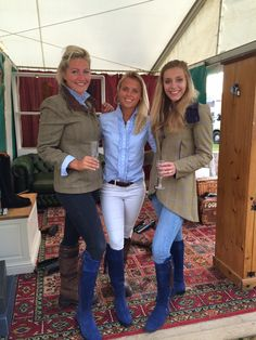 Emily, Lydia from Dubarry and Fran from Fairfax and Favour in ouir TF Catherine Jacket!