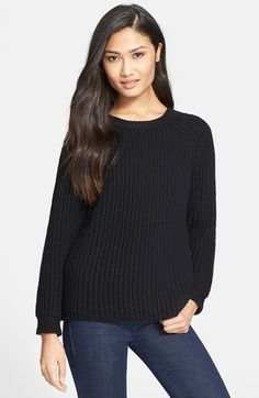Milly 'Fisherman' Sweater available at #Nordstrom