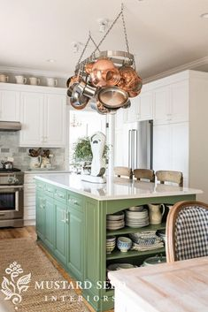 boxwood green kitchen island - Miss Mustard Seed - boxwood green kitchen island – Miss Mustard Seed The Effective Pictures We Offer Y - Painted Kitchen Island, Green Kitchen Island, Farmhouse Kitchen Island, Kitchen Island Decor, Modern Kitchen Island, Small Space Kitchen, Kitchen Paint, New Kitchen, Kitchen Islands