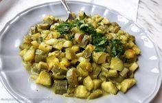 http://blog.giallozafferano.it/ros/zucchine-stufate-con-cucurma/ ottimo contorno per chi è a dieta