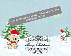 CHRISTMAS will come a knocking before we know it! Be prepared - get these digital images to make your own cards and greetings.  Do like the Boy Scouts: PRE PREPARED. Clip art Snowy by ArtToArt