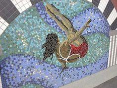 TITLE: Killarney Pool ARTIST: Dawn Detarando and Brian McArthur LOCATION: Killarney Aquatic & Recreation Centre, 1919 29 St. S.W. CONTRIBUTOR: Carole Dobson - Calgary, Alberta, Canada