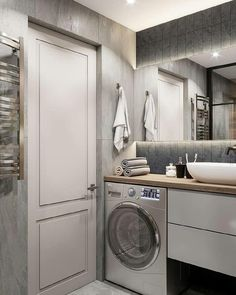 The bathroom is also an important part of the interior. Bathroom Interior Design, Bathroom Styling, Interior Exterior, Bad Inspiration, Bathroom Inspiration, Modern Bathroom, Small Bathroom, Bathroom Cabinet Organization, Bad Styling