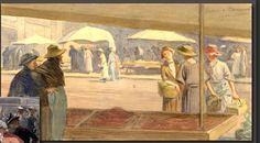 Gustave de Beaumont (Suisse, 1851-1922) – Marché