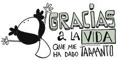 gracias a la Vida Amazing Quotes, Best Quotes, Love Quotes, Inspirational Quotes, Positive Phrases, Spanish Quotes, Love Words, Words Quotes, Quote Of The Day