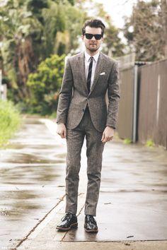 Suit – asos.com Shirt – Jack London Tie – Jack London Shoes – Grenson